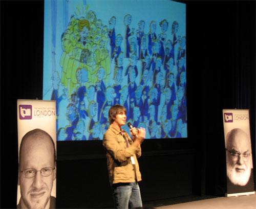 Brian forklarer Higgs-feltet på en så genial måte at jeg kommer til å huske det for alltid. Hurra, jeg kan fremdeles lære noe!