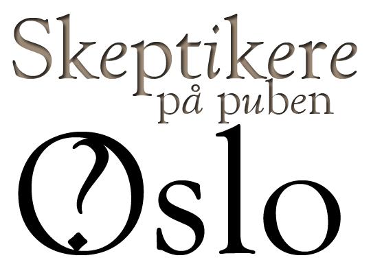 Skeptikere på puben Oslo